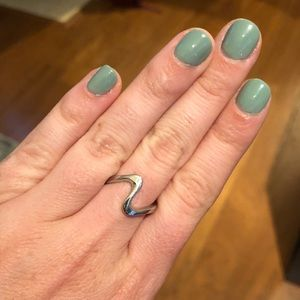 Size 6 Statement Wave Ring